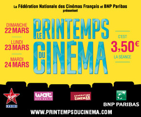 Le Printemps du Cin�ma 16�me �dition !