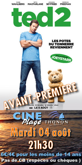 Cin� Plage : TED 2