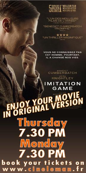 Enjoy your movie in orginal version