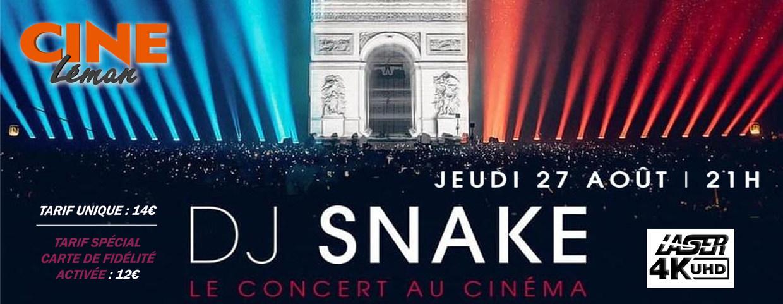 Photo du film DJ Snake - Le concert au cinéma
