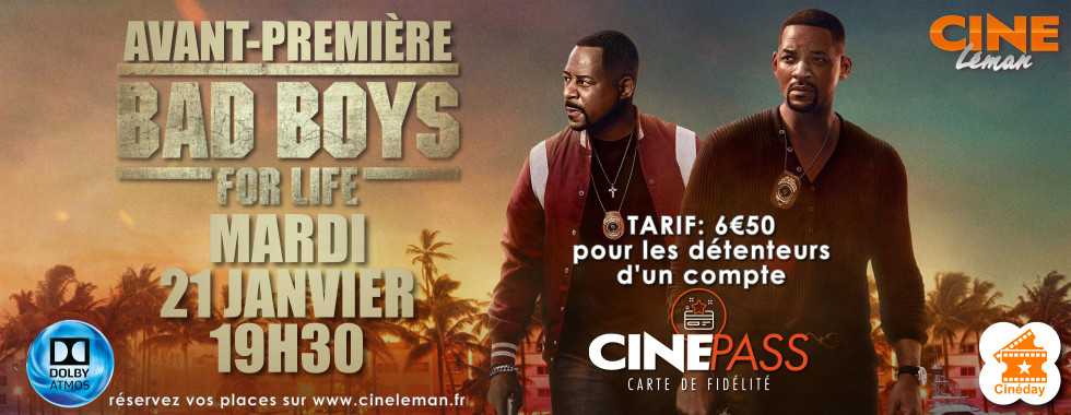 Photo du film Bad Boys For Life